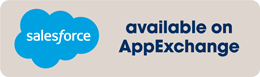Available on Appexchange Banner